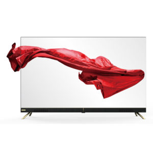 "55"" Frameless UHD Android LED TV With Sound Bar (4K)"